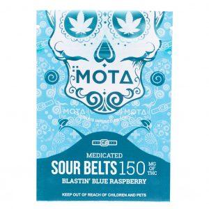 Mota Sour Belts- Blastin' Blue Raspberry