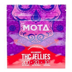 THC Wild Berry Jellies